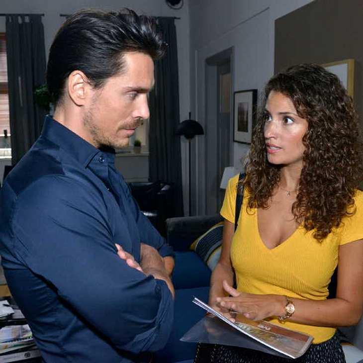 GZSZ: Ayla schämt sich für ihren neuen Freund David!