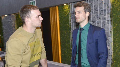 Chris und Felix aus GZSZ - Foto: MG RTL D / Rolf Baumgartner