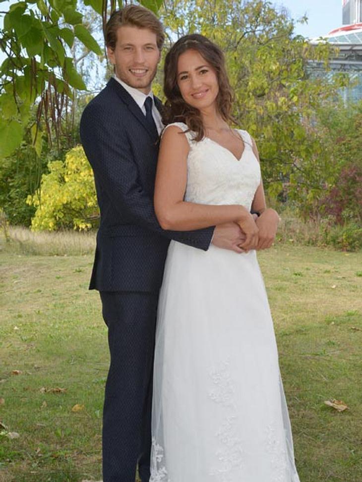 Dominik und Elena als Brautpaar