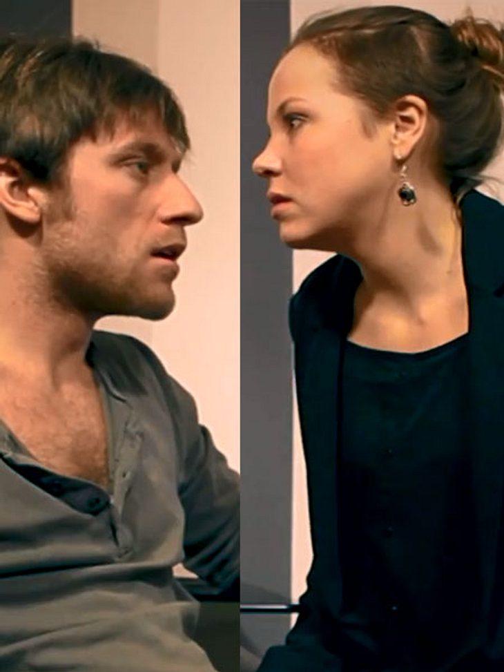 Ex-GZSZ-Stars Franziska van der Heide und Merlin Leonhardt eskalieren in Kurzfilm!
