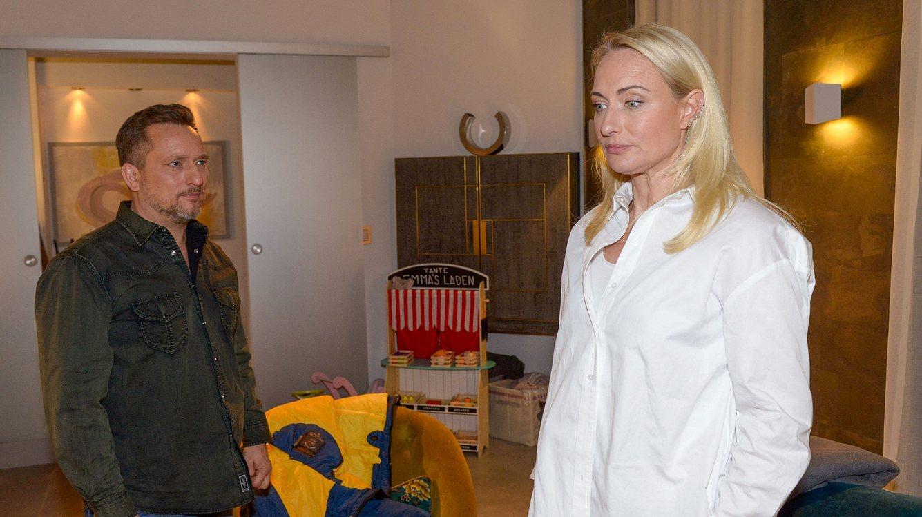 Michael (Lars Pape) und Maren (Eva Mona Rodekirchen)
