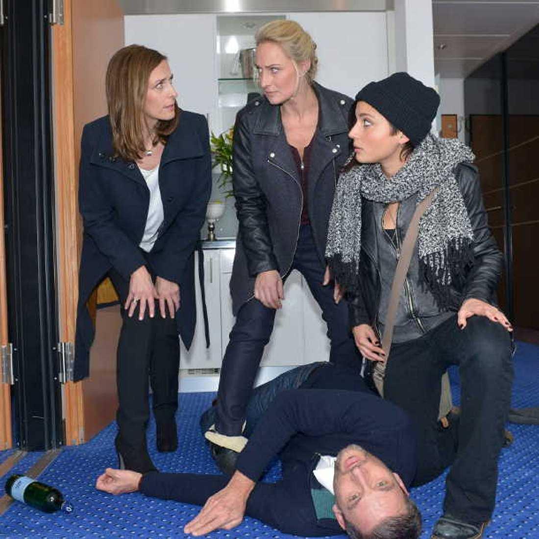 GZSZ-Mord: Verscharren Katrin, Anni und Maren die Leiche von Frederic heimlich bei Nacht und Nebel?