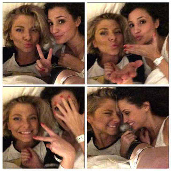 GZSZ-Girls Nadine Menz und Valentina Pahde sind miteinander im Bett gelandet!