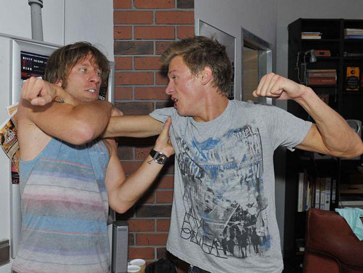 Bei Vince und Bommel fliegen die Fäuste