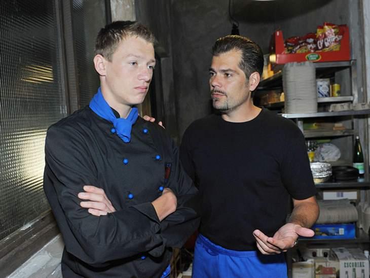 Vince (Vincent Krüger) und Leon (Daniel Fehlow, re.).