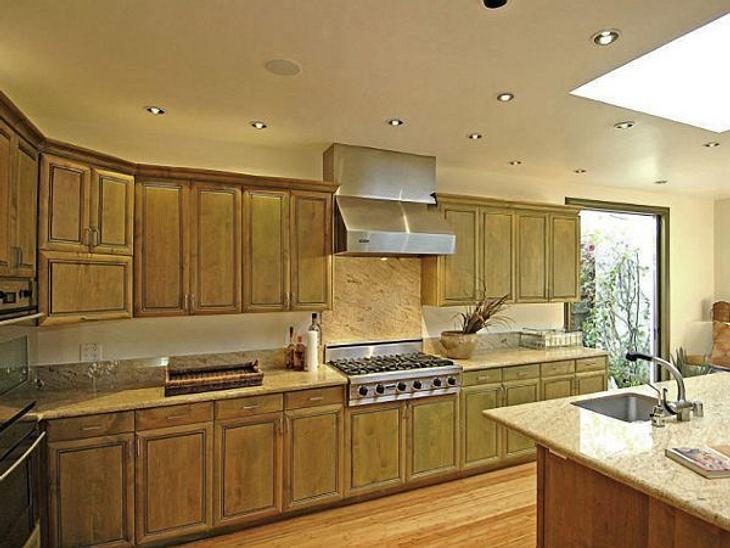 Die Luxus-Häuser der StarsEine großzügige Küche.