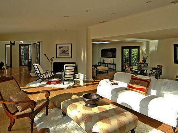 Die Luxus-Häuser der StarsEbenso großzügige Wohnbereiche.
