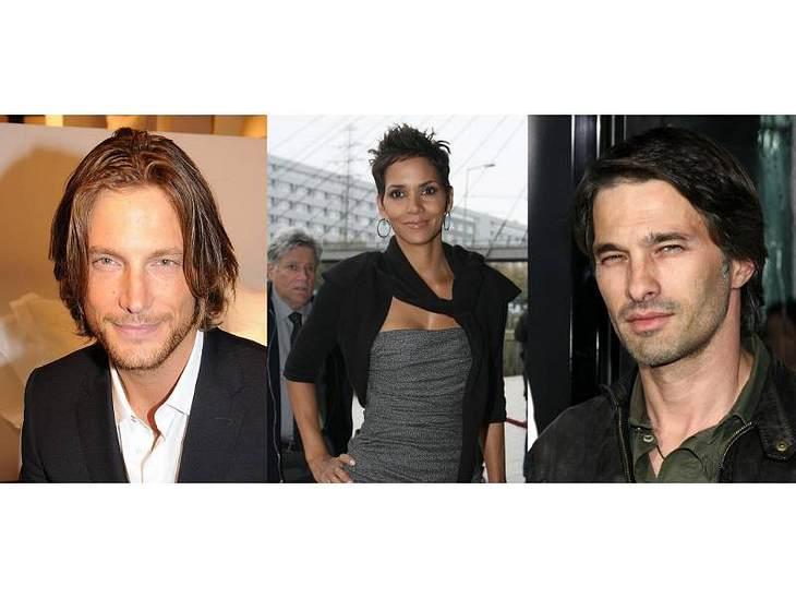 Halle Berry liebt den langhaarigen, verwegenene Machotypen mit Style: Ex Gabriel Aubry (li) und ihr aktueller Lover Olivier Martinez (re) sind sich deshalb sehr ähnlich.