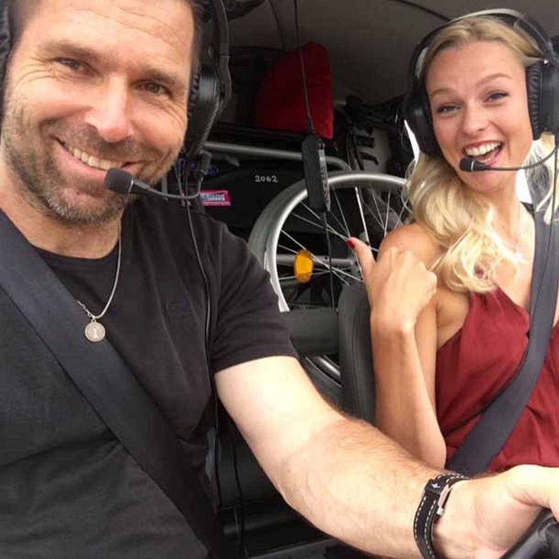 GNTM-Stuntfrau Miriam Höller verliert ihren Freund Hannes Arch bei Hubschrauberabsturz!