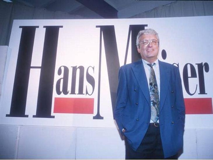 """Die Talkshow-Moderatoren der 90erHans Meiser war der Erste, der in Deutschland eine Talkshow ins TV brachte. Seine gleichnamige Show ging 1992 auf Sendung. Die Quoten gingen durch die Decke. """"Bambi"""" und """"Goldene Kamera"""""""