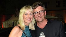 Hans Sigl mit seiner Frau Susanne Sigl