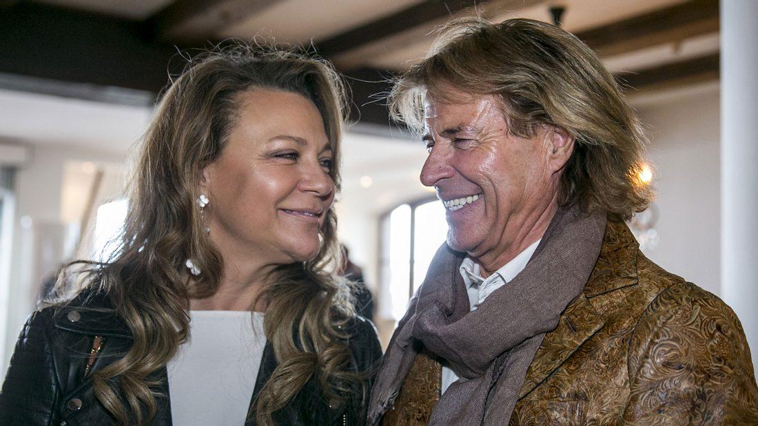 Hansi Hinterseer und seine Ehefrau Romana Hinterseer