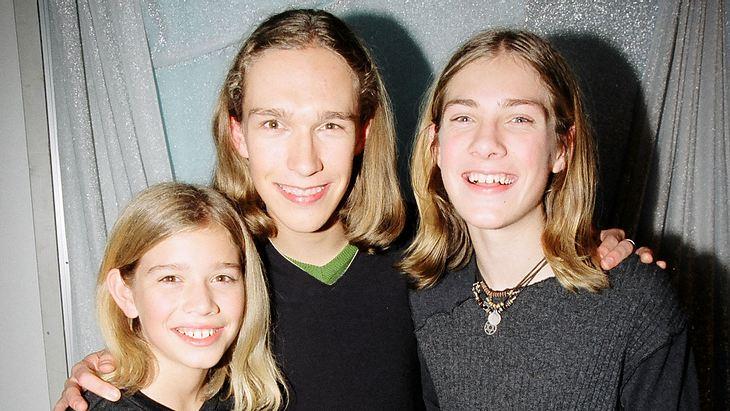 Die Hanson-Brüder als Kinder in den 90ern