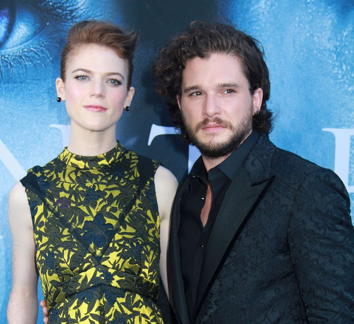 Game of Thrones: Kit Harington und Rose Leslie haben sich verlobt