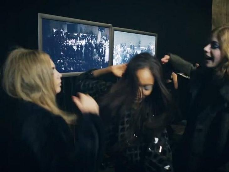 Cara Delevigne tanzt den Harlem Shake