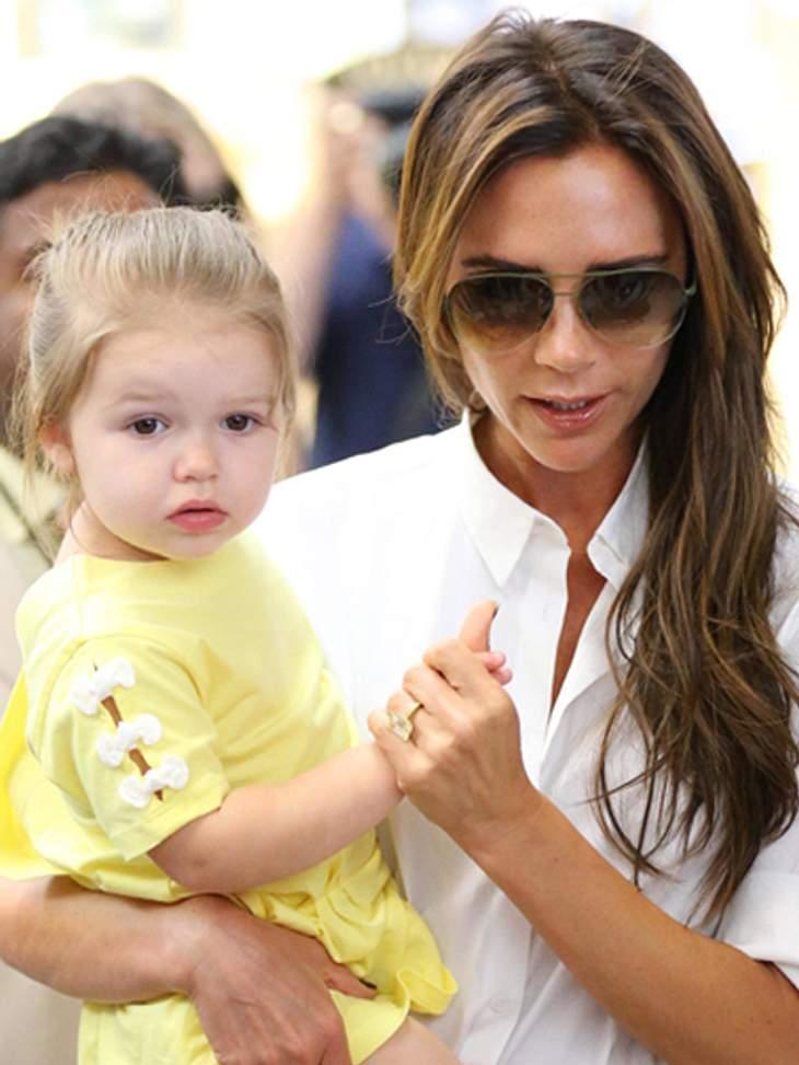 Harper Beckham soll mit Prinz George spielen