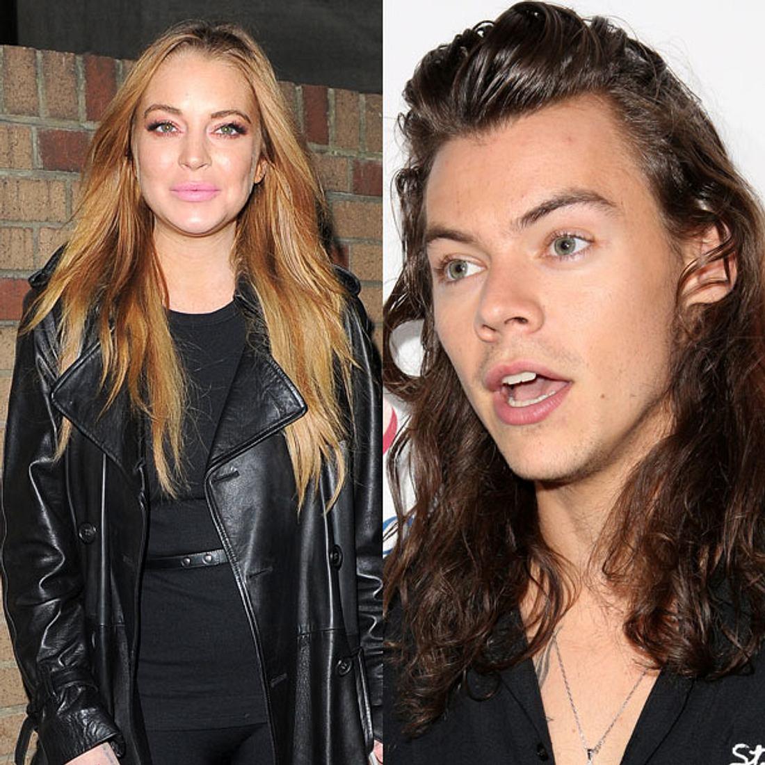 Lindsay Lohan hat Harry Styles abblitzen lassen