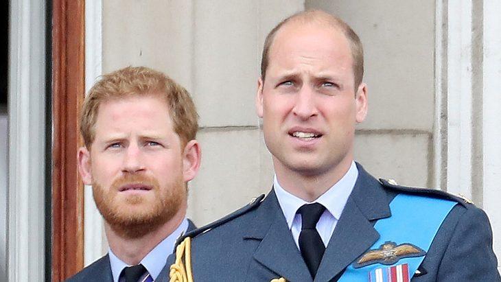 Prinz William & Prinz Harry im Streit
