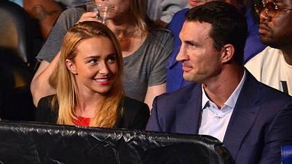 Hayden Panettiere versteht sich immer noch gut mit Wladimir Klitschko - Foto: GettyImages