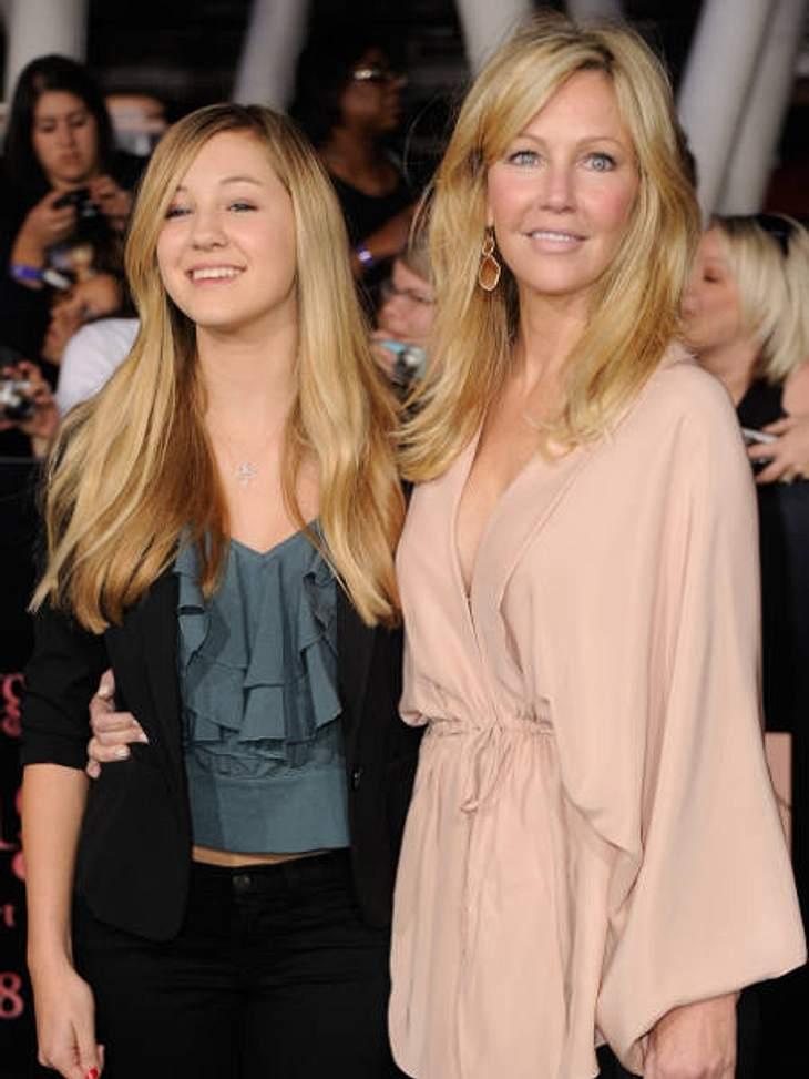 """""""Breaking Dawn - Teil 1""""-Weltpremiere - Die HighlightsAuch Nicht-""""Twilights""""-Stars waren auf dem roten Teppich dabei. Zum Beispiel Heather Locklear mit ihrer Tochter Ava."""