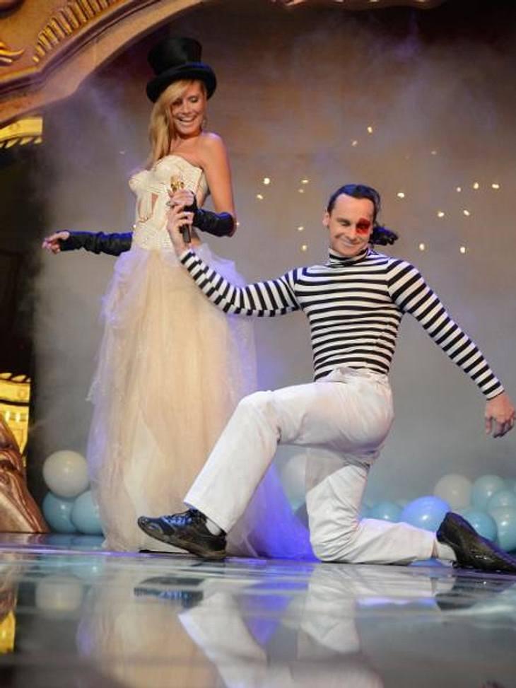 MTV Europe Music Awards 2012 - Die HighlightsAls sexy Zirkus-Direktorin gab Heidi in der Mega-Show in den Ton an.