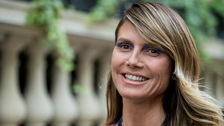 Heidi Klum gibt ihren Töchtern Beauty-Tipps