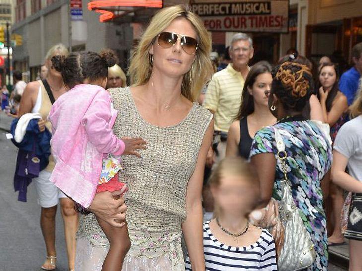 """Wer ist die beste Mutter Hollywoods?Die LöwinObwohl Topmodel Heidi Klum (39) richtig viel um die Ohren hat (Scheidung von Seal (49), """"Germany's Next Topmodel"""", """"Projekt Runway""""), schaufelt sie sich regelmäßig Zeit frei,"""