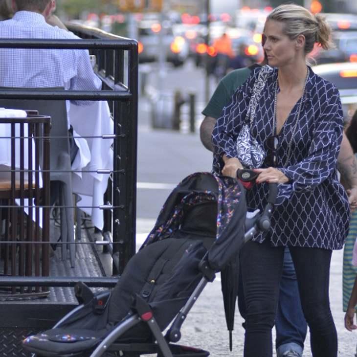 Ist Heidi Klums Kinderwagen nicht sicher genug?