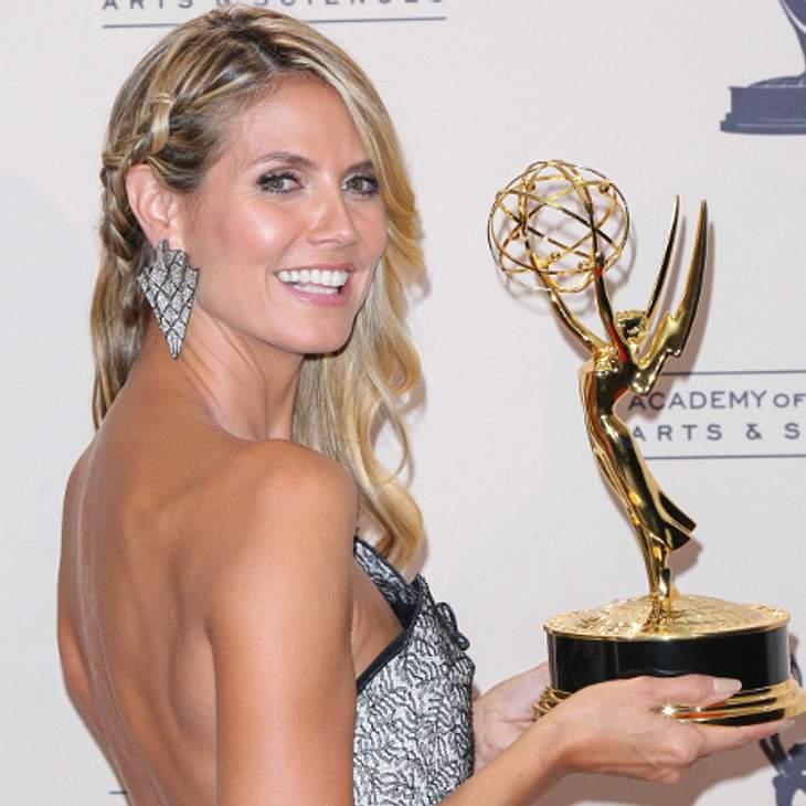 Heidi Klum wurde mit einem Emmy ausgezeichnet.