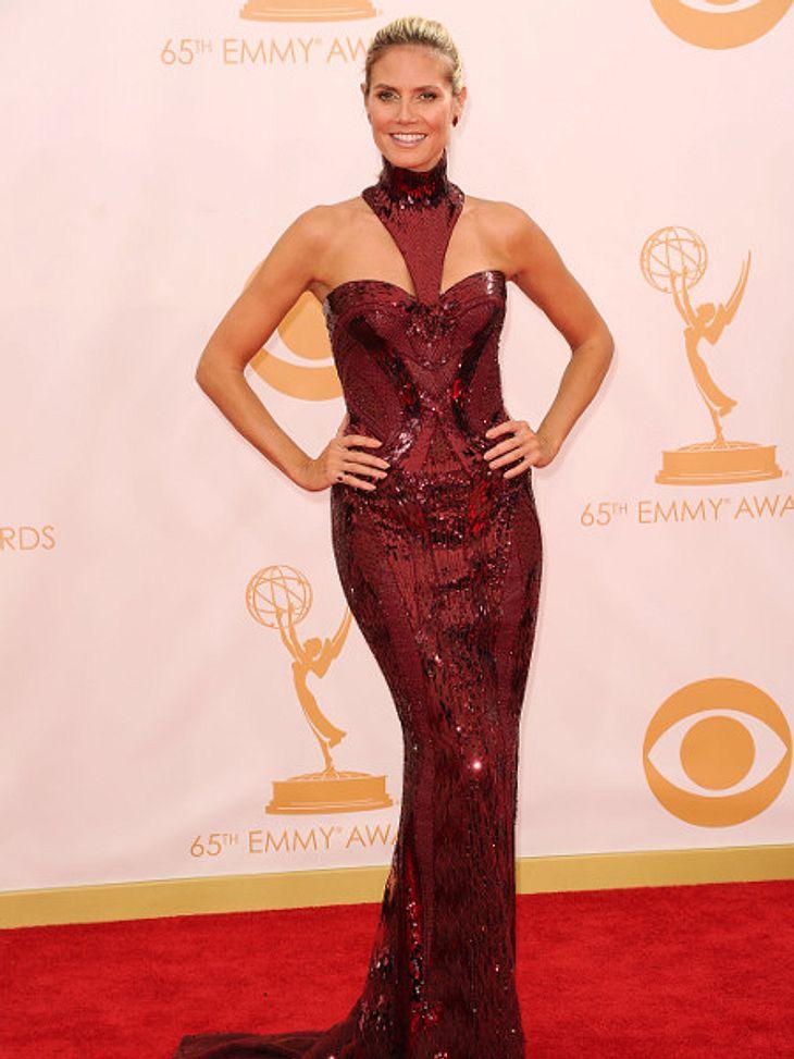 Heidi Klum überstrahlte bei den Emmys 2013 alle