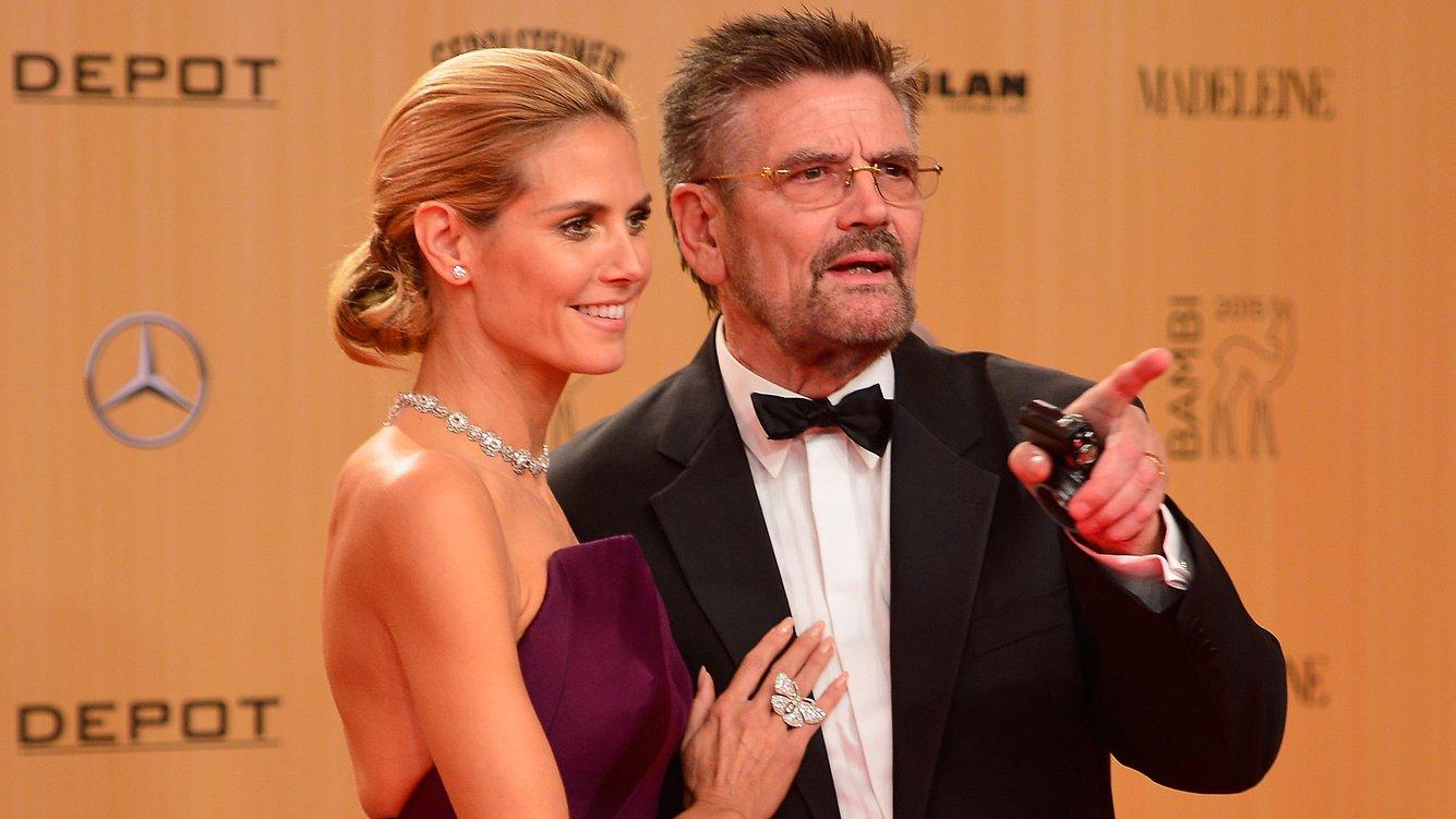 Heidi und Günther Klum