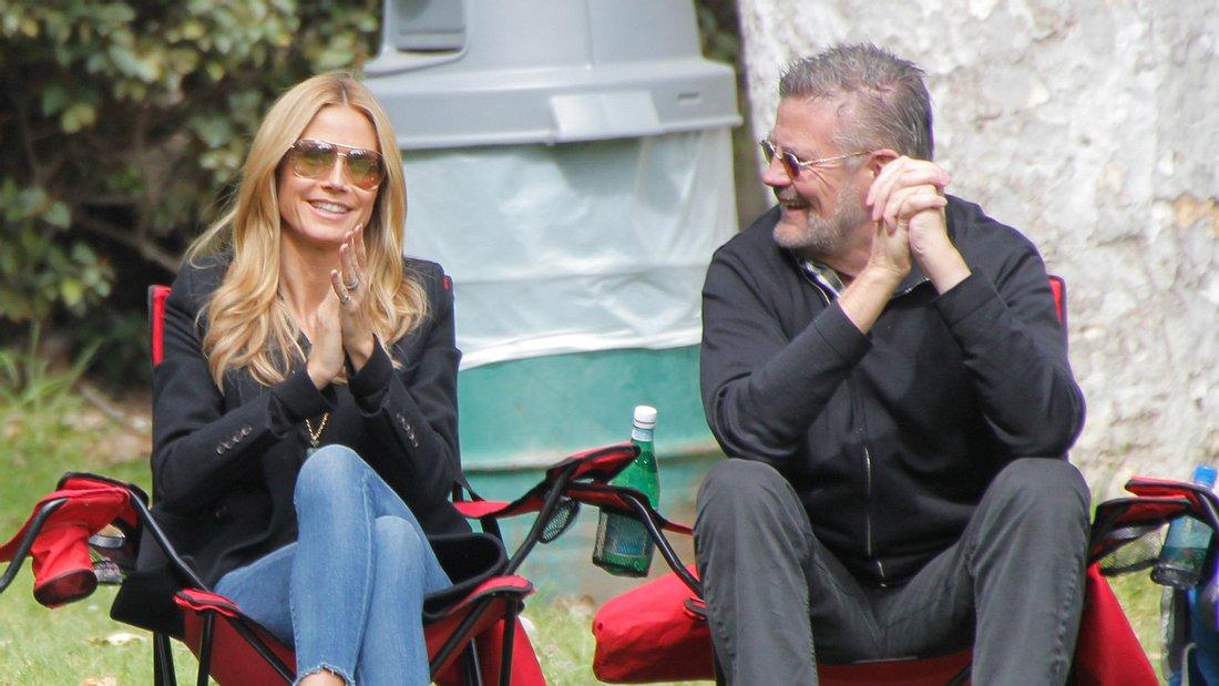 Heidi Klum: Rührende Nachrichten von Papa Günther