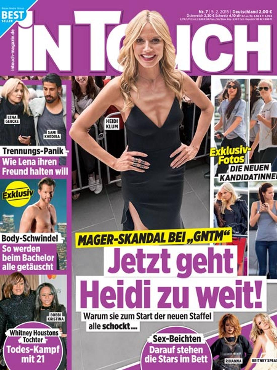 InTouch: Mager-Skandal um Heidi Klum