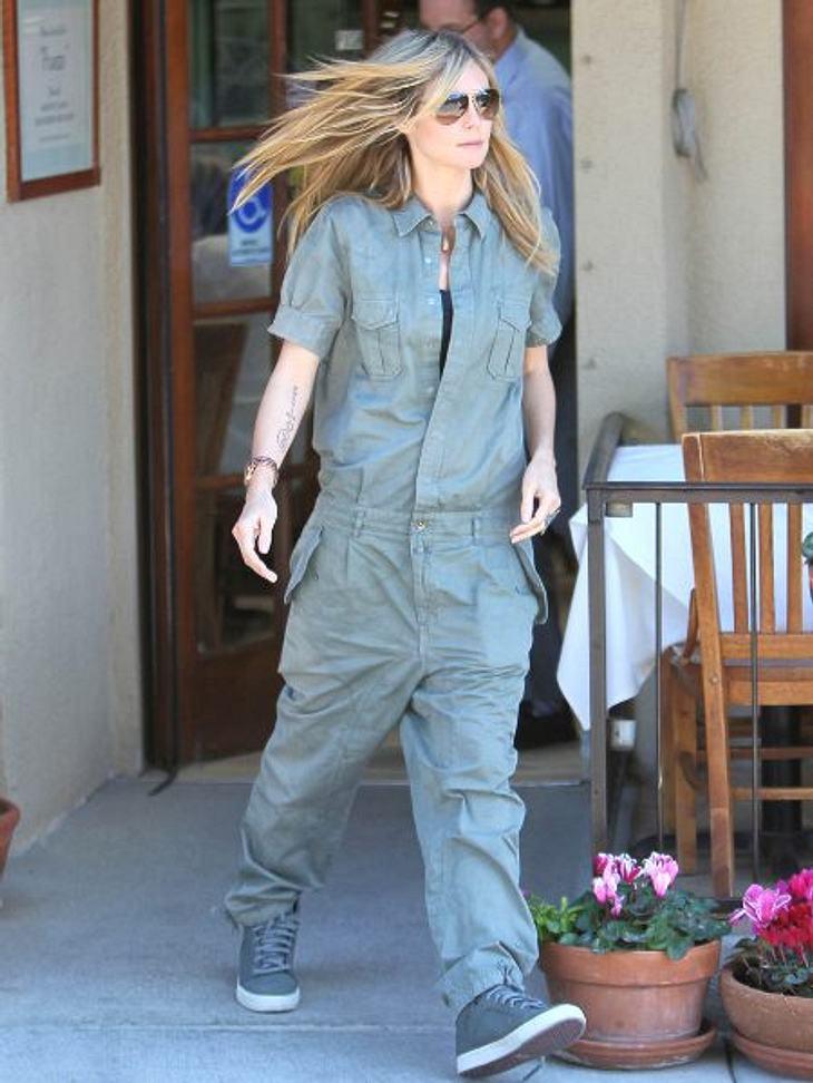 Heidi Klum: Vom Topmodel zum ModemuffelHeidi Klum arbeitet neben GNTM wohl noch auf dem Bau. Oder wie sollen wir uns dieses Outfit erklären?