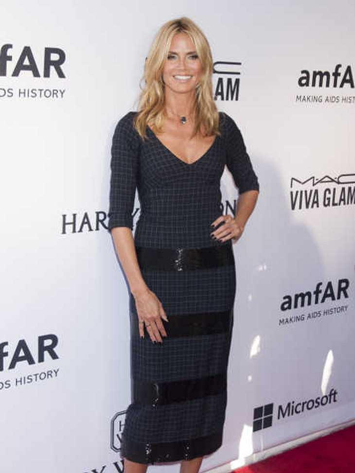 Heidi Klum plaudert gerne aus dem Nähkästchen