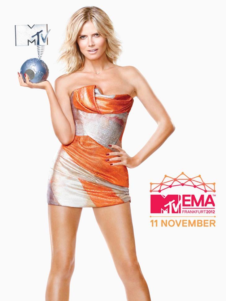 Heidi Klum wird die MTV Europe Music Awards moderieren.