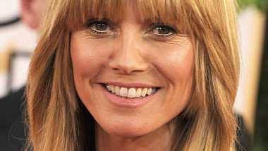Heidi Klum zeigte sich natürlich bei den Golden Globes. - Foto: Getty Images