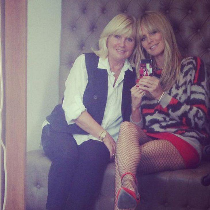 Heidi Klum nimmt ihre Mama mit zur Arbeit