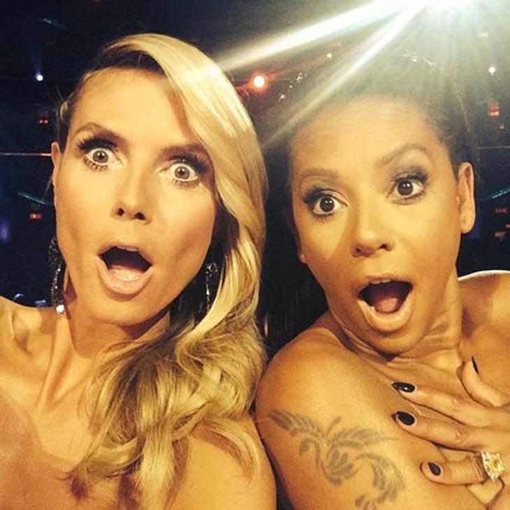 Sind Heidi Klum und Mel B. wirklich nackt?