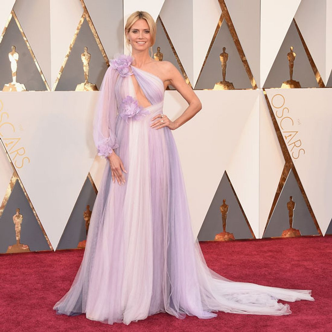 Heidi Klum Oscars 2016 Kleid
