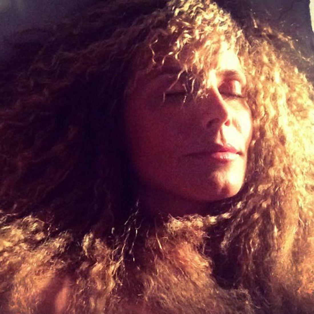 Heidi Klum mit Pudel-Locken
