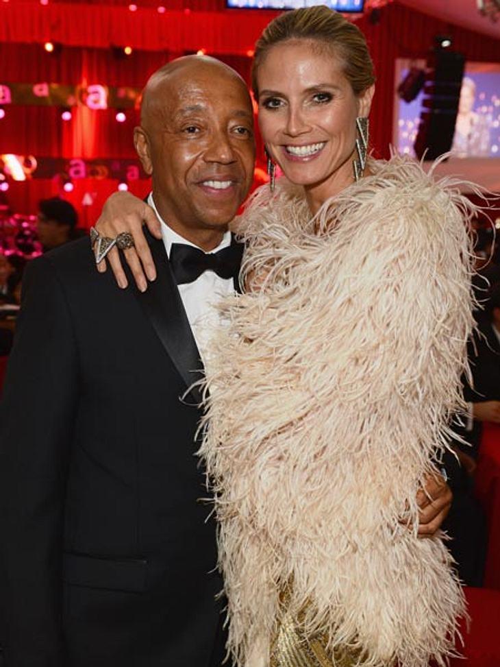 Was läuft zwischen Heidi Klum und Russell Simmons?
