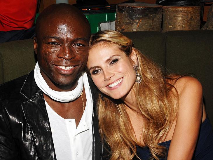 Total verliebt in ihre kleine Baby-Tochte Lou: Heidi Klum und Ehemann Seal
