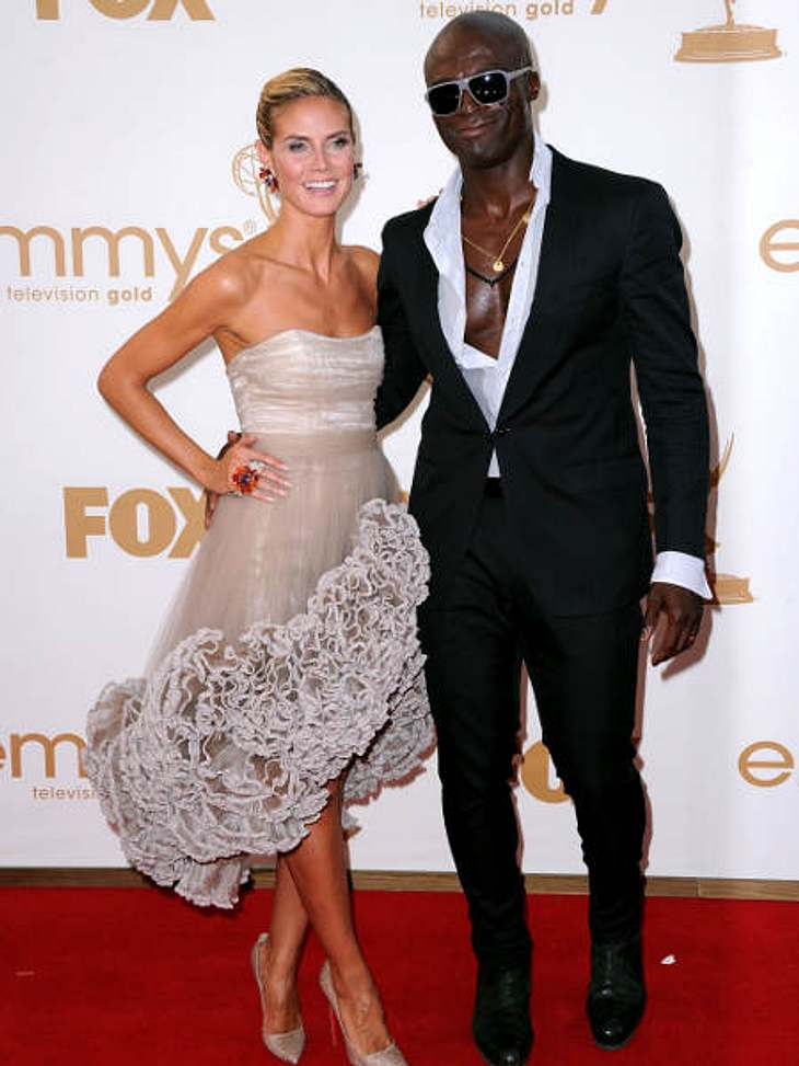 Die Emmy Awards 2011 - Die HighlightsKeine Party ohne Heidi Klum und Seal.