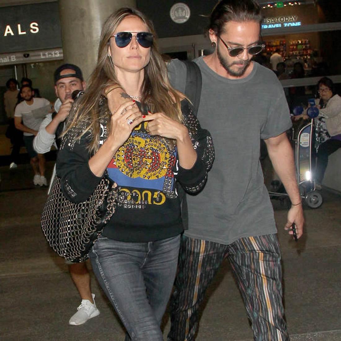 Tom Kaulitz: Jetzt äußert er sich zur Beziehung mit Heidi Klum