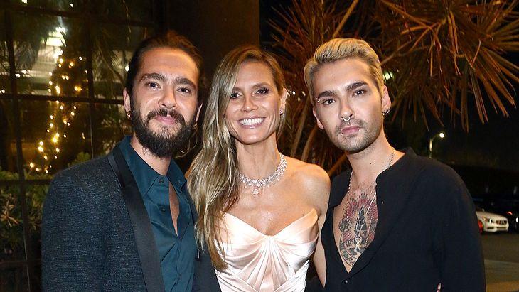 Treibt Heidi Klum einen Keil zwischen Tom und Bill Kaulitz?
