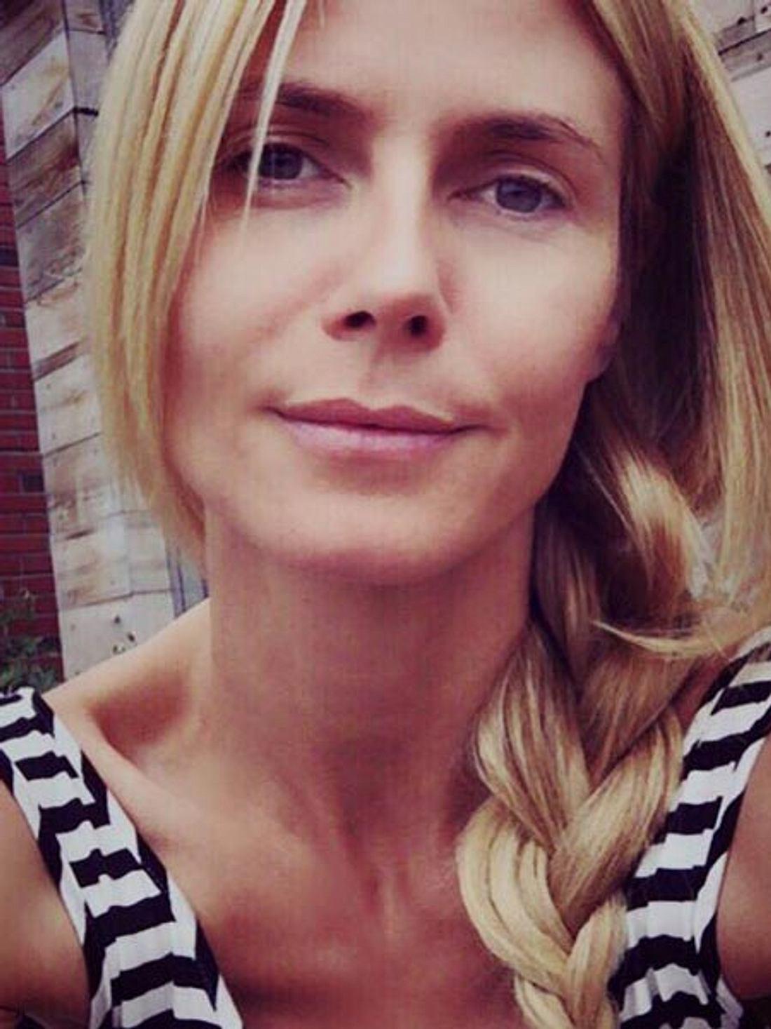 Heidi Klum wirkt erschöpft
