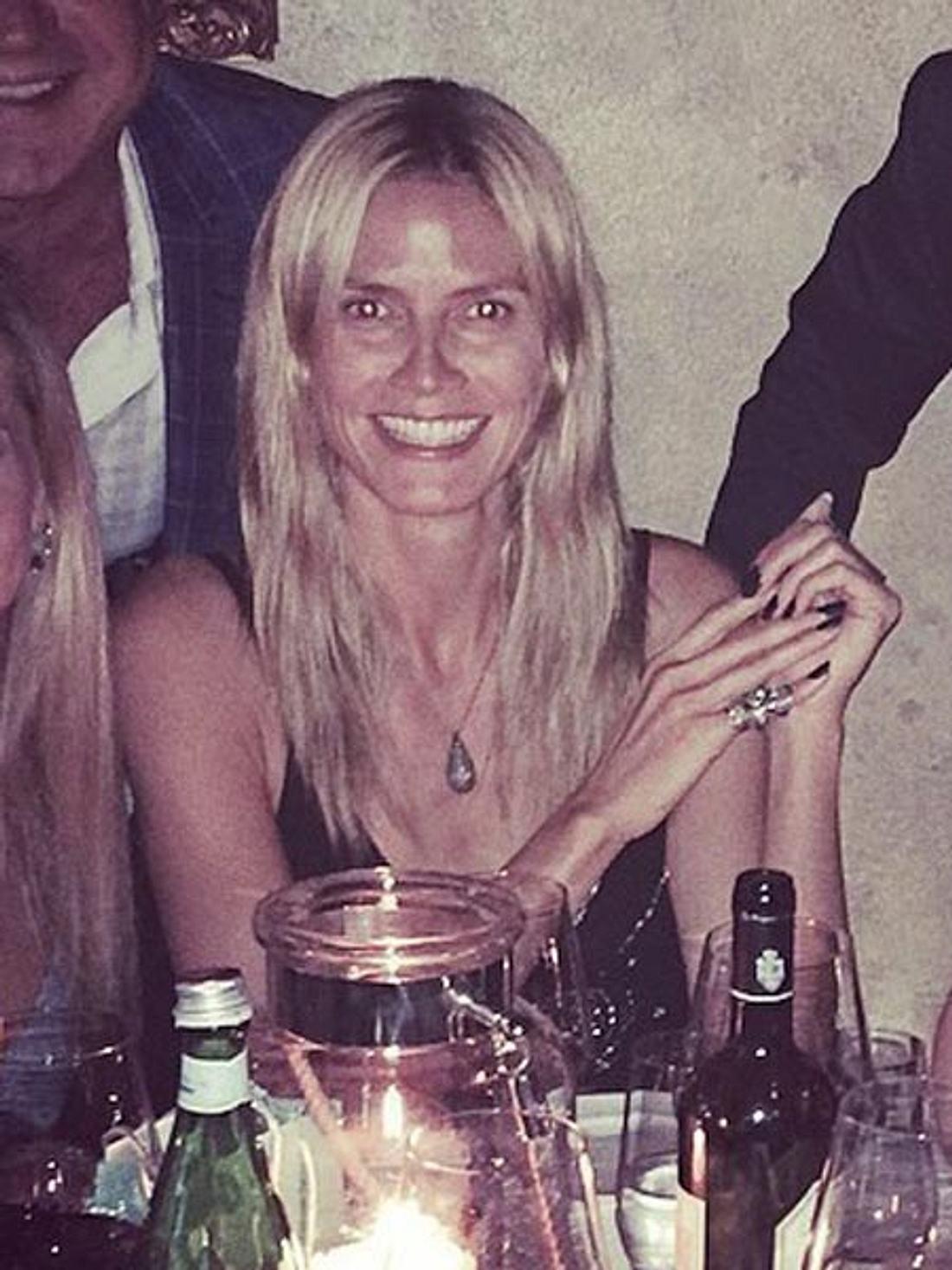 Heidi Klum zeigt sich ungeschminkt