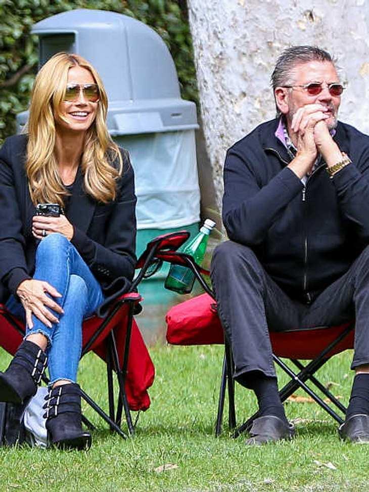 Heidi Klum und ihr Vater haben ein inniges Verhältnis.
