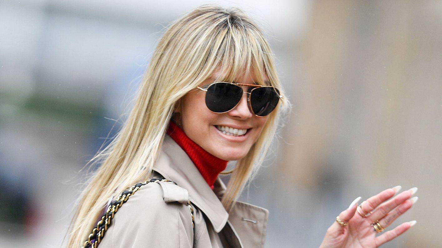 Heidi Klum freut sich über ihr Vermögen